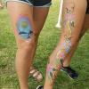 Painted Legs
